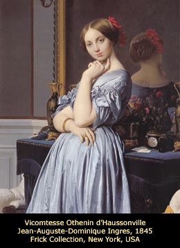 Vicomtess Othenin d'Haussonville, by J.-A.-D. Ingres, 1845